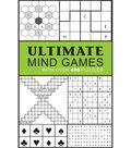Ultimate Mind Games Book-With over 400 Puzzles