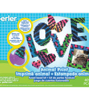 Perler Fused Bead Kit-Animal Print, , hi-res