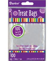 """Treat Bags 3""""X4.75"""" 200/Pkg-Clear, , hi-res"""