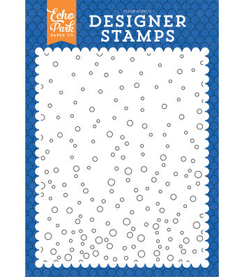 Background Stamp A2-Under The Sea, Bubble