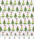 Keepsake Calico Christmas Cotton Holiday Fabric-Christmas Tree Crackle