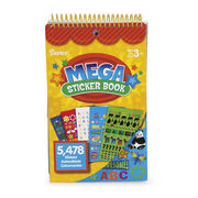 Mega Sticker Book-Teacher, , hi-res