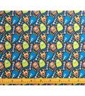 Doodles Juvenile Apparel Fabric-Happy Monsters Interlock