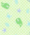 Snuggle Flannel Fabric 42\u0027\u0027-Whale & Hook