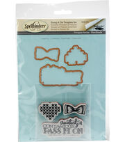 Spellbinders Stamp & Die Set-Creativity, , hi-res
