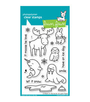 "Lawn Fawn Clear Stamps 4""X6""-Critters In The Arctic, , hi-res"