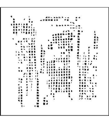 "Crafter's Workshop Templates 6""X6""-Mini Tile Texture"
