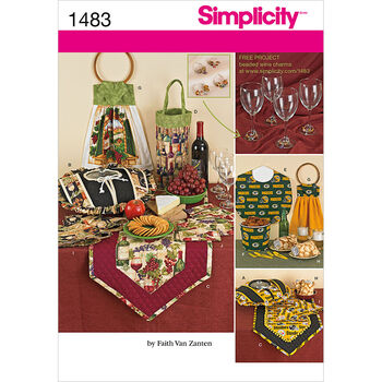 Simplicity Pattern 1483OS One Size -Crafts Crafts