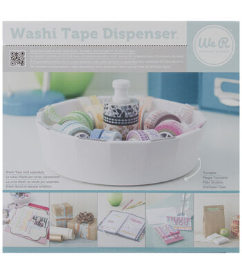 "We R Washi Tape Dispenser-4.5""X8.5"""