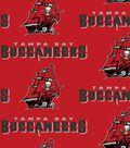 Tampa Bay Buccaneers Cotton Fabric 58\u0022-Logo
