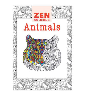 Adult Coloring Book-Guild of Master Craftsman Zen Coloring Animals