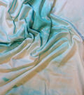 Printed Knit Rayon Spandex Fabric 55\u0022-Mint Tie Dye