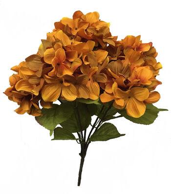 Blooming Autumn 20'' Hydrangea Bush-Orange