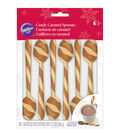 Wilton Pack of 6 Candy Caramel Spoons