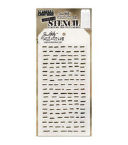 "Tim Holtz Layered Stencil 4.125""X8.5""-Dashes, , hi-res"