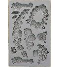 Iron Orchid Designs Vintage Art Decor Mould 5\u0022X8\u0022-Fleur