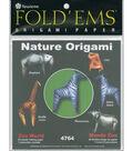 Fold \u0027Ems Origami Paper 6\u0022x6\u0022 24/Pkg-Zoo World