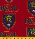 Real Salt Lake Fleece Fabric 58\u0022-Logo