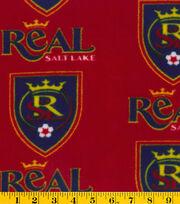 "Real Salt Lake Fleece Fabric 58""-Logo, , hi-res"