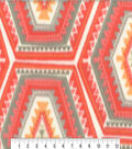 Anti-Pill Fleece Fabric 59\u0022-Chogan Coral