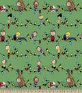 Peanuts Print Fabric-Snoopy & Friends Christmas
