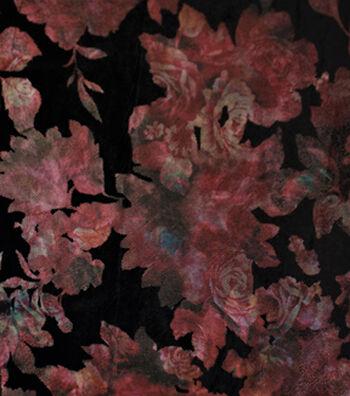"""Fashion Velvet Fabric 58""""-Floral Foil"""