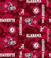 "University of Alabama Crimson Tide Fleece Fabric 60""-Digital, , hi-res"