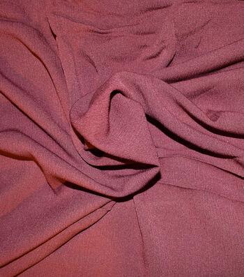 """Silky Gauze Fabric 45""""-Wine"""