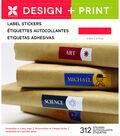 Momenta 312 pk 2.25\u0027\u0027 Design & Print File Label Stickers