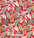Cotton Shirting Tropical Fabric 57\u0022-Red Tropical Paradise