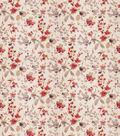 Eaton Square Upholstery Fabric 54\u0022-Goldstone/Poppy