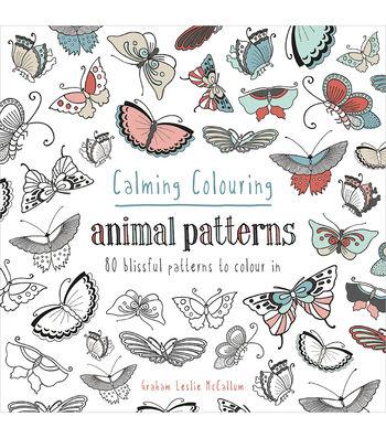 Pavilion Books Calming Coloring Animal Patterns Book