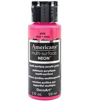 DecoArt Neon Americana Acrylic Paint 2oz  , , hi-res