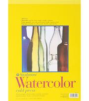"Strathmore Watercolor Paper Pad 11""X15""-12 Sheets, , hi-res"