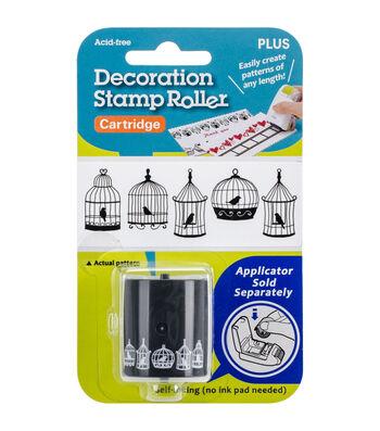 Decoration Stamp Roller Cartridge-Birdcages