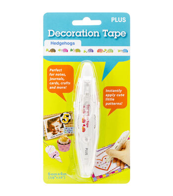 Decoration Tape Stamping Pen-Hedgehogs