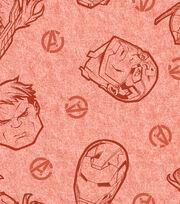 Marvel Comics Avengers Knit Fabric 58''-Tossed Head, , hi-res