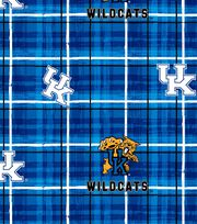 "University of Kentucky Wildcats Cotton Fabric 44""-Plaid, , hi-res"