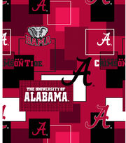 University of Alabama Crimson Tide Cotton Fabric 43''-Modern Block, , hi-res