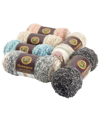 Lion Brand Homespun Thick & Quick Yarn??