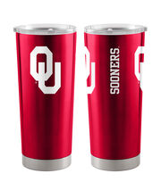 University of Oklahoma Sooners 20 oz Insulated Stainless Steel Tumbler, , hi-res