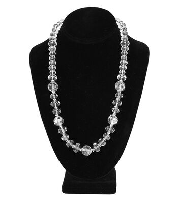 Short Multi Necklace Crystal