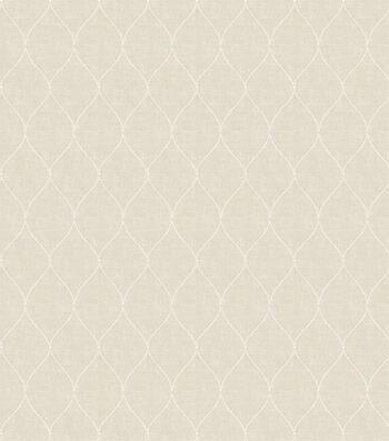 Eaton Square Sheer Fabric-Cabin/Ivory