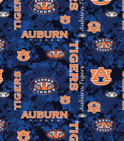 "Auburn University Tigers Fleece Fabric 60""-Digital Camo, , hi-res"