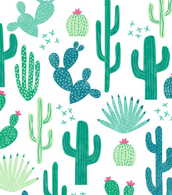 Cactus 52''x90'' Tablecloth