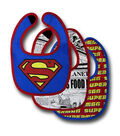 DC Comics Boys Superman Bibs 3pk