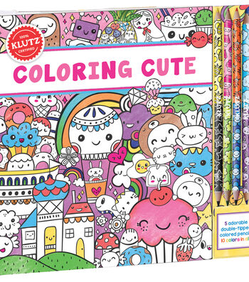Coloring Cute Book Kit