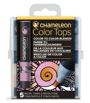 Chameleon 5 pk Color Tops Set-Pastel Tones