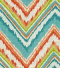 Home Decor 8\u0022x8\u0022 Fabric Swatch-Dena Chevron Charade Capri