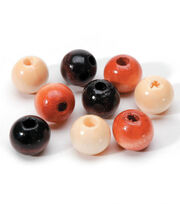 12mm Wood Bead Asst, , hi-res